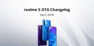 Realme 5 Update