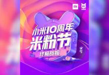 xiaomi me fan 2020 festival