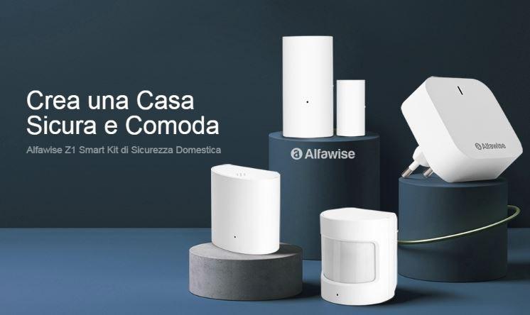 Alfawise Z1 Smart Security Kit 4 in 1 – GearBest