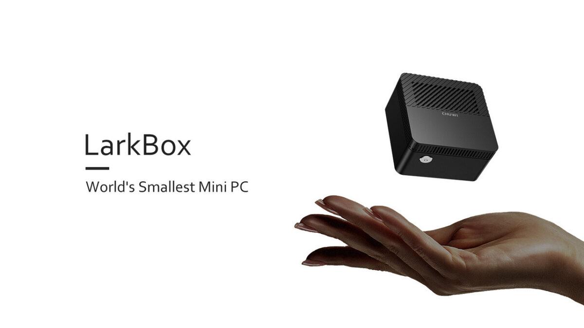 Chuwi LarkBox: карманный ПК на Intel за $155