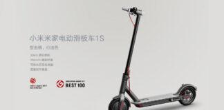 Xiaomi Mi Scooter elétrico 1S