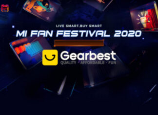 xiaomi mi fan festival gearbest