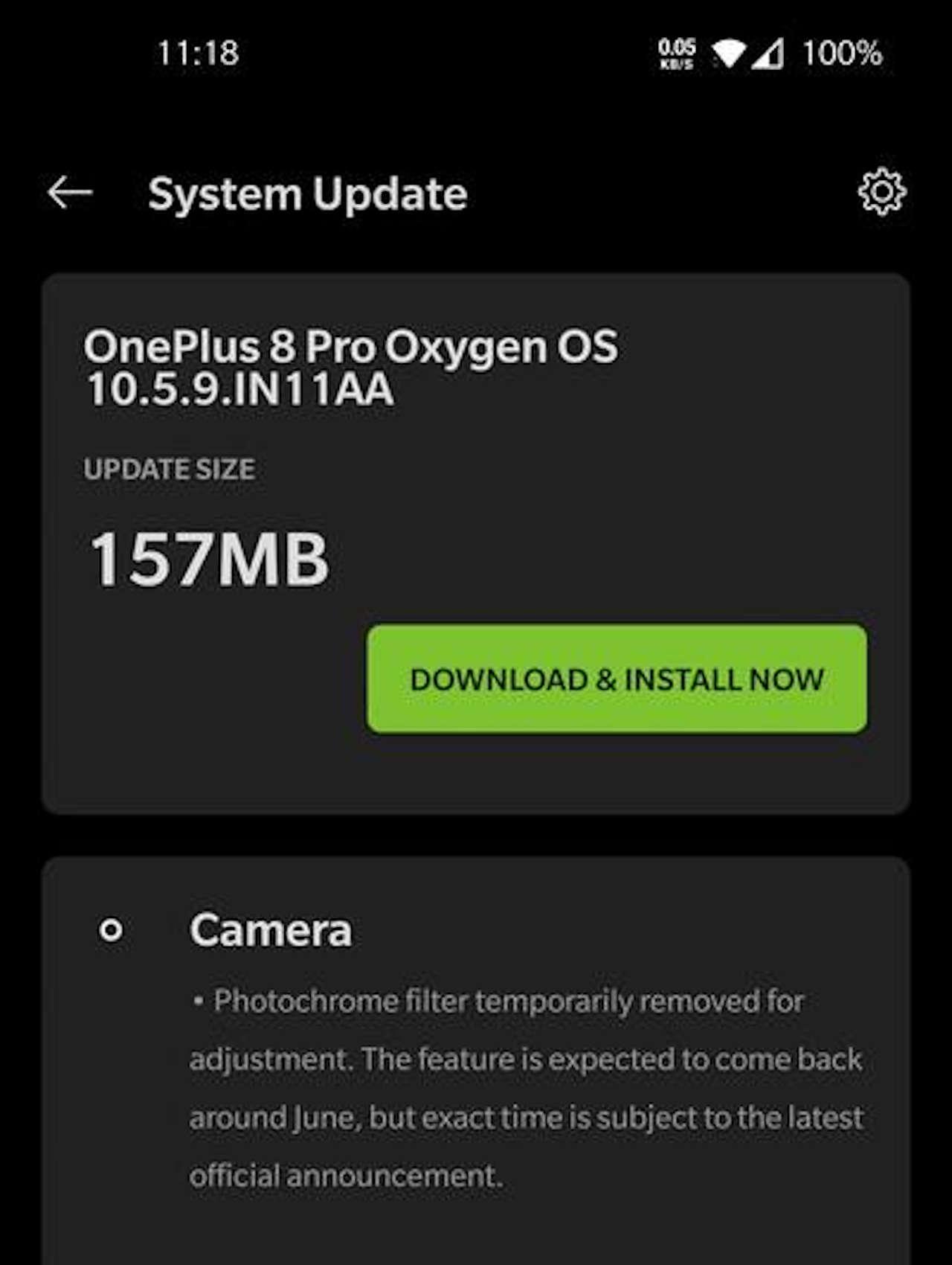 oneplus 8 pro oxigenos 10.5.9