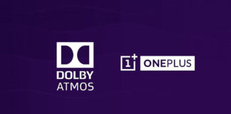 oneplus dolby atmos