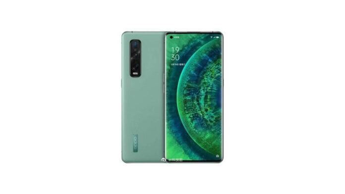 oppo find x2 pro vegan leather green