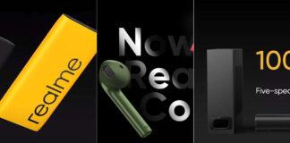 realme buds air neo power bank 2 soundbar