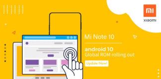 xiaomi mi note android 10