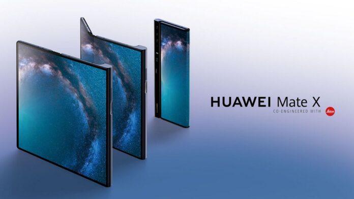 actualización del parche de seguridad huawei mate x mayo china