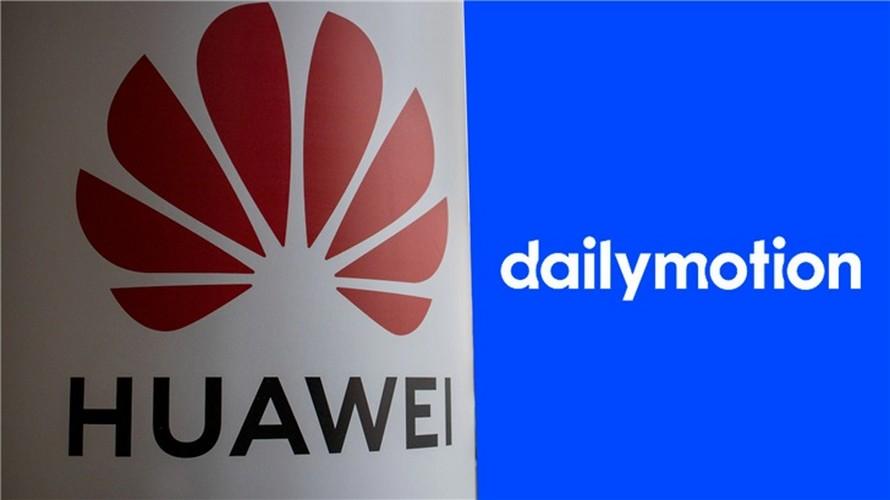 parceria de vídeo dailymotion huawei 2
