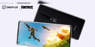 oneplus 8 epische Spiele Partnerschaft Fortnite 90 fps