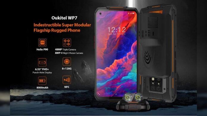 oukitel wp7 rugged phone specifiche prezzo uscita