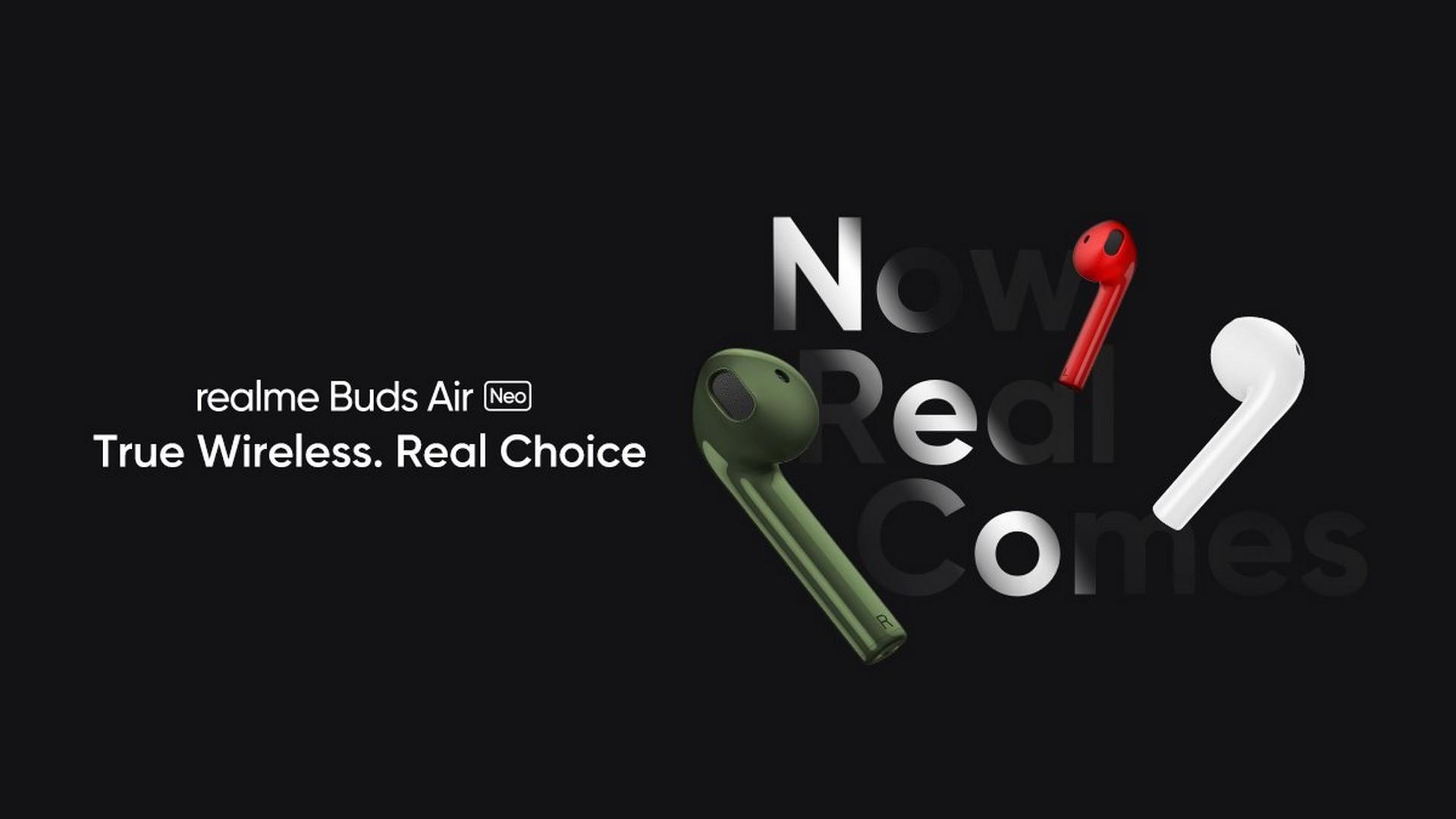data premiery słuchawek Realme Buds Air Neo TWS