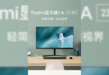 1a exibição redmi