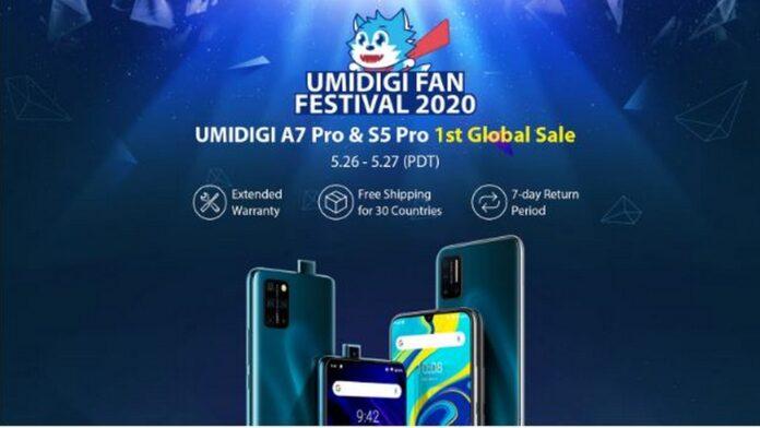 umidigi fan festival s5 pro a7 pro aliexpress garantia estendida