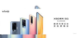 vivo x50 design display