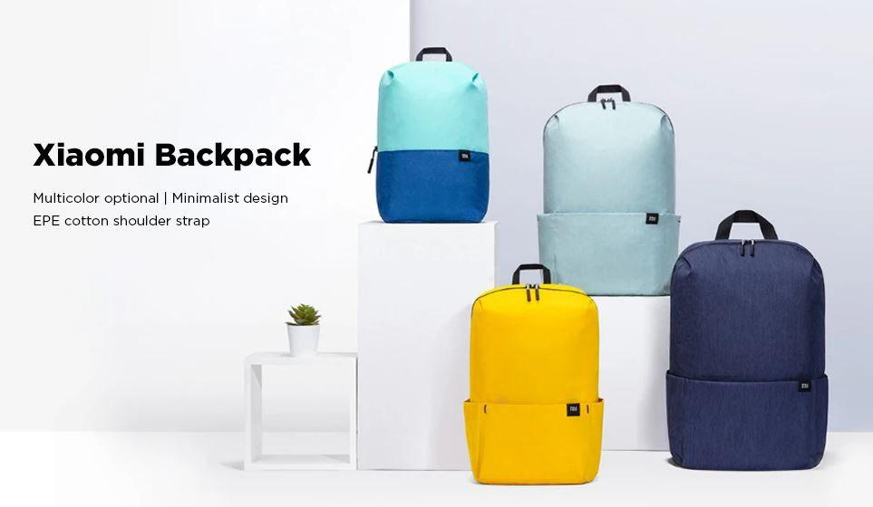 Xiaomi 10L Backpack Bag Colorful - GearBest