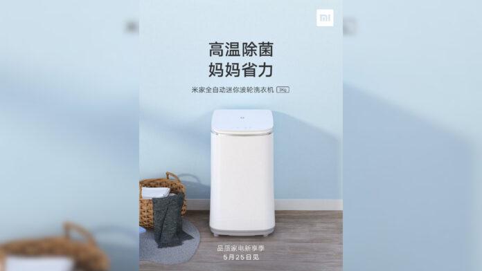 xiaomi mijia lavatrice portatile automatic pulsator 3