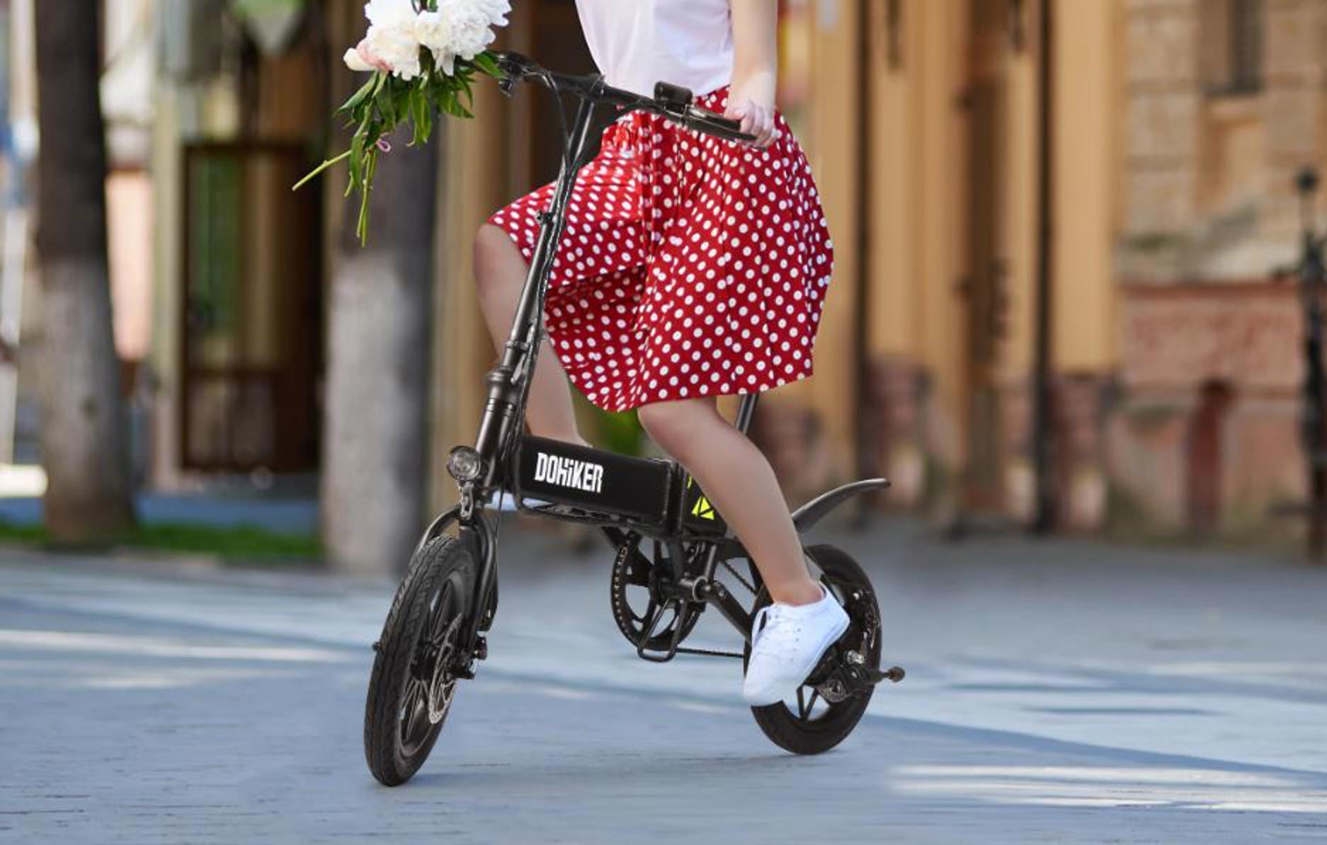 تقدم و dohiker الدراجة