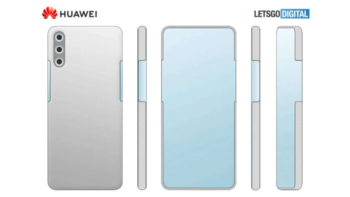 huawei brevetto display laterale