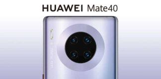 Huawei compañero de 40
