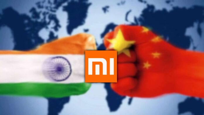 Indien gegen China Xiaomi