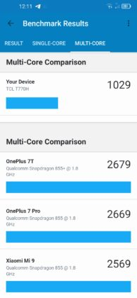 TCL 10L benchmark
