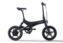 e bike onebot s6 gearbest offer
