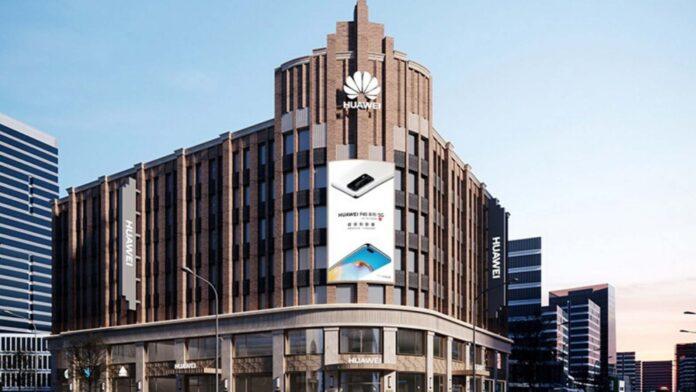 huawei nuovo flagship store shanghai