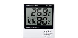 Termometro da interno per umidità e temperatura