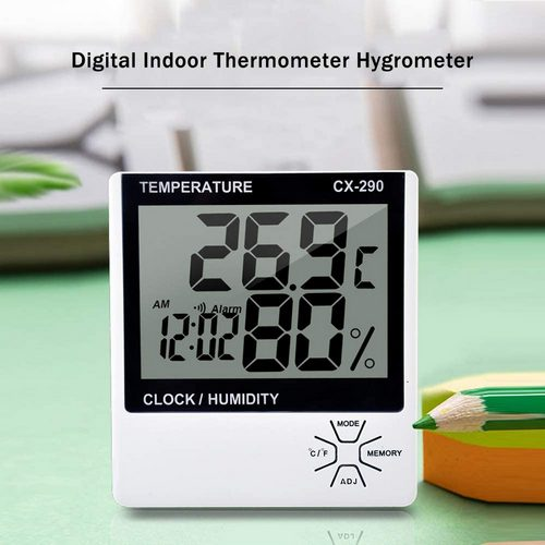 Innenthermometer für Luftfeuchtigkeit und Temperatur