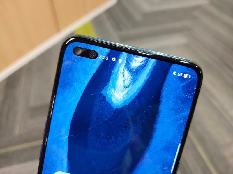 oneplus nord z dual front camera leak