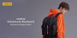 ريلمي النظام البيئي على ظهره حقيبة مغامر الذكية