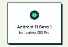realme x50 pro android 11 beta 1
