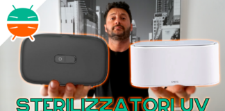 Review UV Sterilizer smartphone and Xiaomi objects