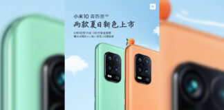 xiaomi mi 10 youth lite zoom new colors