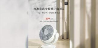 xiaomi mijia dc ventilador portátil ventilador portátil