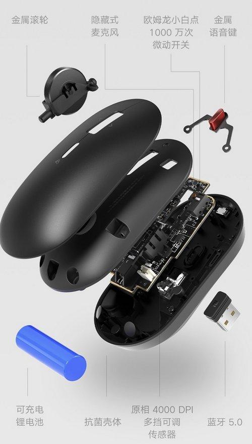 xiaomi mouse wireless controlli vocali assistente xiaoai 3