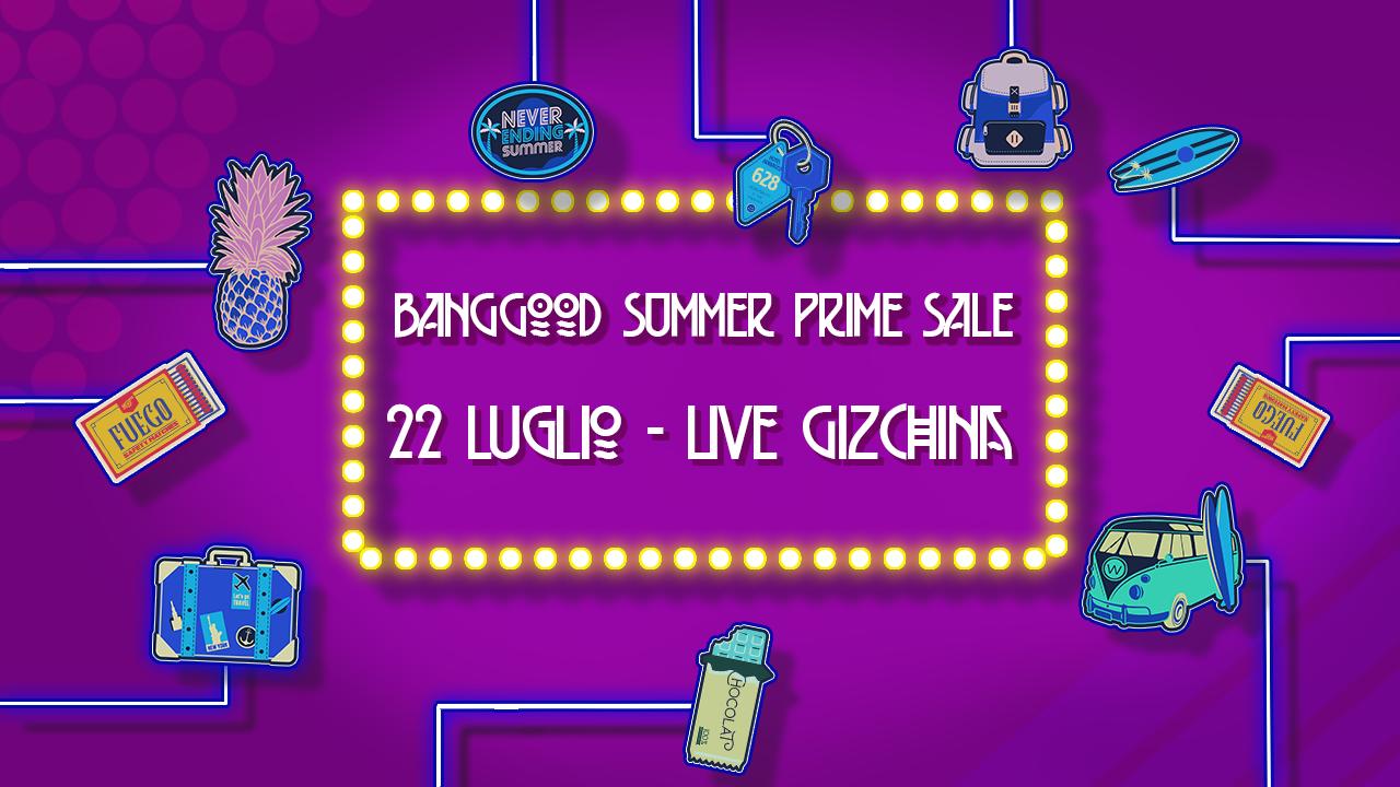 banggood live 22 lipca Gizchina