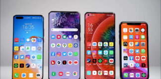 Huawei P40 Pro + Samsung Galaxy S20 Ultra iPhone 11 Pro Max