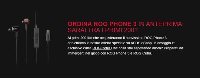 rog phone 3 rog cetra