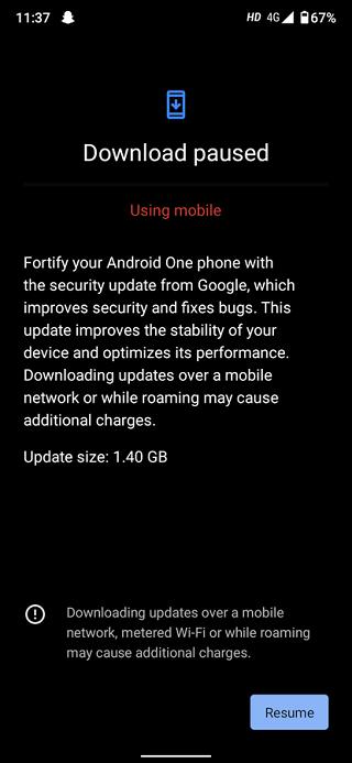 Xiaomi mi A3 aktualizacja lipiec 2020