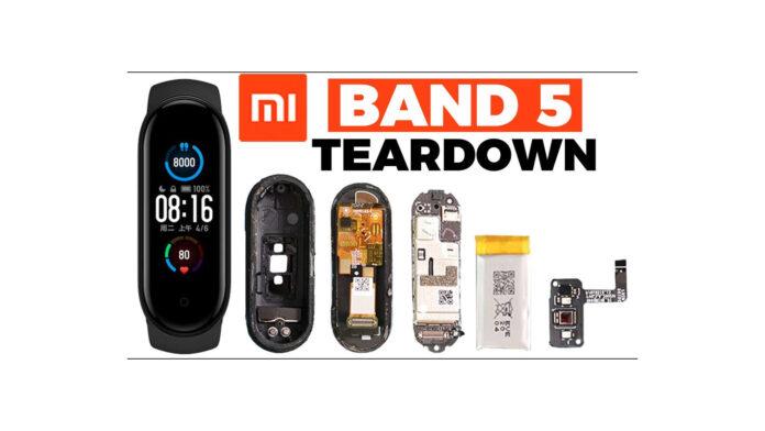 Xiaomi Mi Band 5 Teardown
