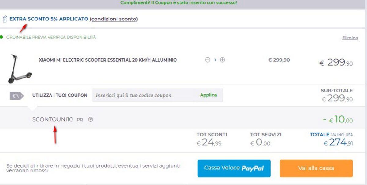 Xiaomi Electric Scooter Essential Discount Code Mobility Bonus Gizchina It