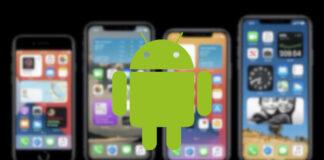 come trasformare android in ios 14