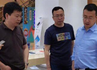 честь хуавей джордж чжао