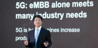 Huawei guo ping przyszłe połączenie 5g