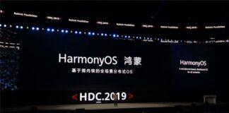 huawei harmonyos conectado registro de marca registrada