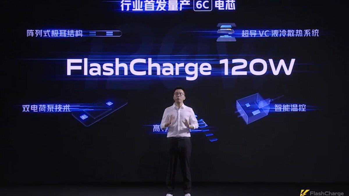 iqoo flashcharge 120W
