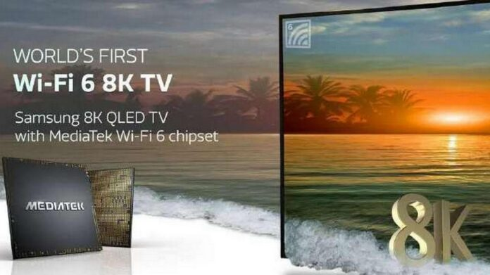 mediatek s900 chipset smart tv 8k wi-fi 6