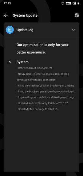 OxygenOS 10.3.5 oneplus 6 6t